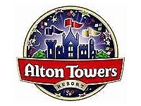 2 x Alton towers tickets Tuesday 5th June