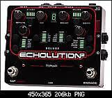 Pigtronix Echoloution 2 with external foot controller