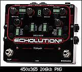 Pigtronix Echoloution 2 + remote + expression pedal