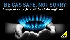 Gas safety check and boiler service