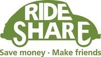 Rideshare Toronto to Kingston Sunday May 24