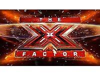 2 x X Factor tickets - 24th Feb - Wembley - block A4