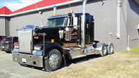 2011 Kenworth W900 Tandem Highway Tractor selling by Auction!