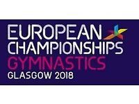 Glasgow 2018 European Men's Artistic Gymnastics (Team Final) 2 x Adult & 2 x Under 16 tickets