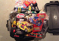 Kinex Rubber Band racers set for sale London Ontario image 1