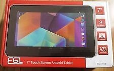 7IN ANDRIOD TABLET NEW E.G.L