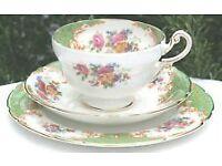 Paragon Rockingham Green Tea set