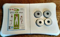 NINTENDO WII BALANCE BOARD AND WII FIT GAMES
