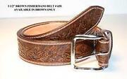 Leather Belt Handmade Amish