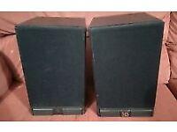 Pair MS3.10 bookshelf speakers in black ash finish