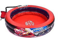 Disney Pixar Cars 3 Bubble Tub Bubbly Paddling Pool - Includes Pump(unwanted gift)-smoke free house
