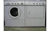 STACKABLE KENMORE FRONT LOAD WASHER & DRYER