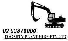 Dumpers, Excavators, Dozer, backhoe from Fogararty Plant Hire P/L Maroubra Eastern Suburbs Preview