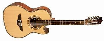 H. Jimenez El Estandar Acoustic / Electric Bajo Quinto Natural