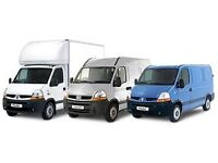 24/7,man and van hire house office home flat,move rubbish removals delivery courier packing services