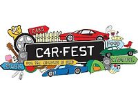 6 X CARFEST SOUTH FULL WEEKEND CAMPING TICKETS FOR SALE 24-26 AUGUST 2018 LAVERSTOKE PARK FARM