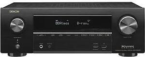 Denon AVR-X1500H 7.2 Channel Network A/V Receiver