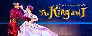 4 Tickets to The King and I - Front Row!