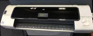 HP DJ T1100 Designjet plotter