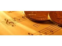 ACCOUNTANCY SERVICES FOR MUSICIANS