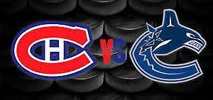 Canadiens Habs vs Vancouver, Jan 7th, 2x124G, Red A Premium $150
