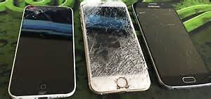 Broken, used, damaged Samsung s4/s5/s6/6Edge and Iphone 5s/6s