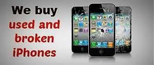 $$$ Buying iphones and Samsung used damaged or new $$$