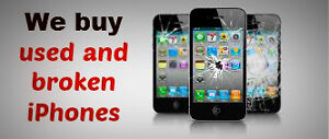 BUYING ALL IPHONE ! NO MATTER THE PROBLEM! DAMAGED LOCKED CRACKE