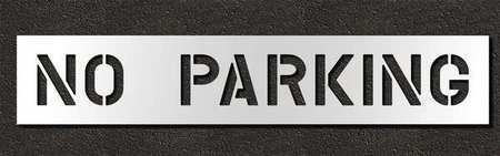 Rae Stl-116-70832 Pavement Stencil,No Parking,8 In