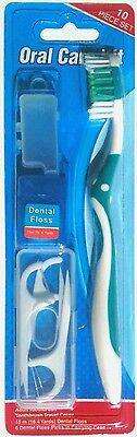 Oral Care Zahnreinigung 10 Teile Set Stick Zahnseide Zahnbürste - Oral Care Reiniger