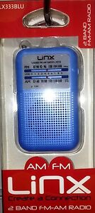 LINX-AM-FM-PERSONAL-RADIO-PORTABLE-RADIO-SMALL-BUILT-IN-SPEAKERS-ASSTD-COLOURS