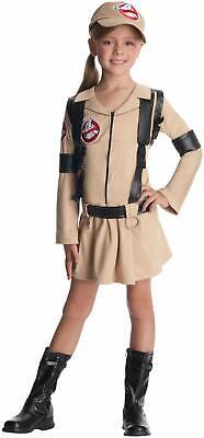 Baseball Girl Halloween (Ghostbuster Girls Dress Halloween Child Costume baseball cap Large cute)