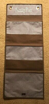 Thirty One Family Planner Wall Hanging Pocket Organizer.  In Excellent Condition
