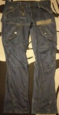 Very Rare G-Star Scuba Elwood Narrow Record Embro Jeans - 34W 32L for sale  Shipping to Ireland