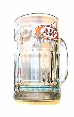Vintage 90's A&W Root Beer Restaurant Drive In Mug EX Dog Suds Sign Clock Ofr