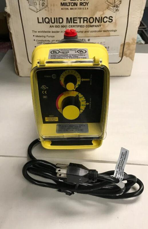 LMI AA151-398BI Metering Pump no hardware
