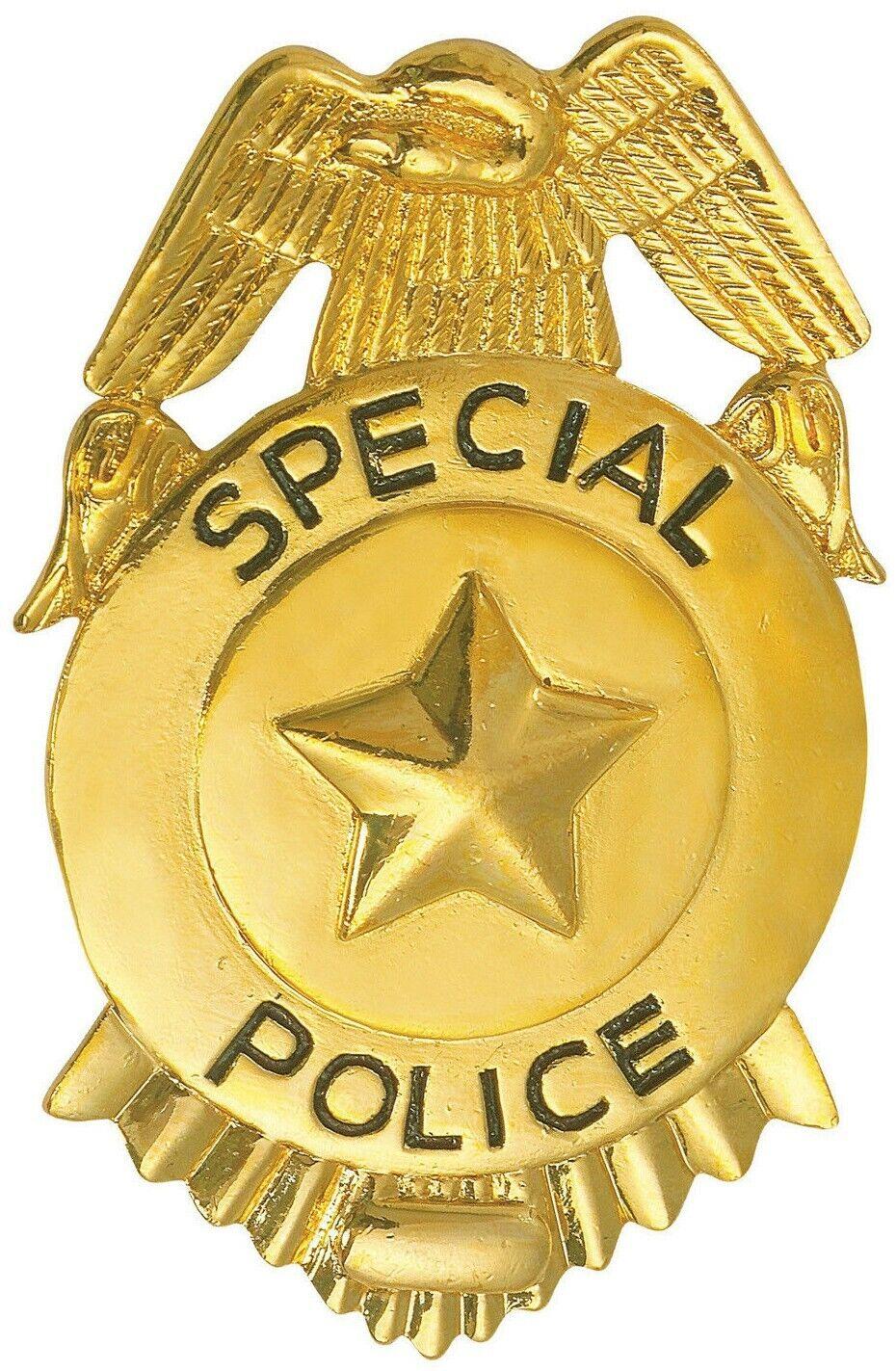 FBI Marke Special Polizei Abzeichen US Dienstmarke Polizeimarke Polizeiabzeichen