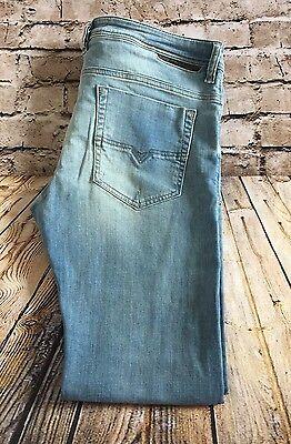 Diesel Safado Stretch Regular Slim Straight Jeans Men's Size 36X32