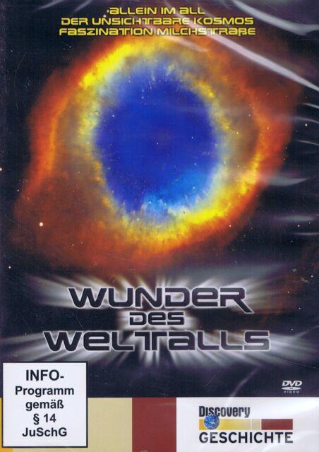 DVD NEU/OVP - Wunder des Weltalls - Discovery Geschichte