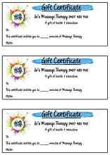 Massage gift certificates Kelso Townsville Surrounds Preview