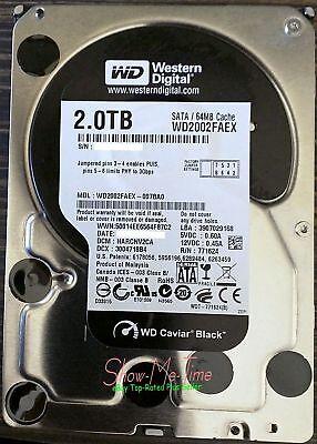 Western Digital WD Black WD2002FAEX HDD 2TB w/ 64MB Cache 6Gb/s 7200rpm 3.5