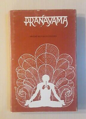 PRANAYAMA SWAMI KUVALAYANANDA Sky Foundation 1978 Vintage Yoga Book HC/DJ