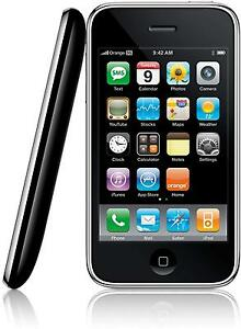 Apple iPhone 3GS - 8 GB - Black - Locked to Orange/T-Mobile - (EE Network)
