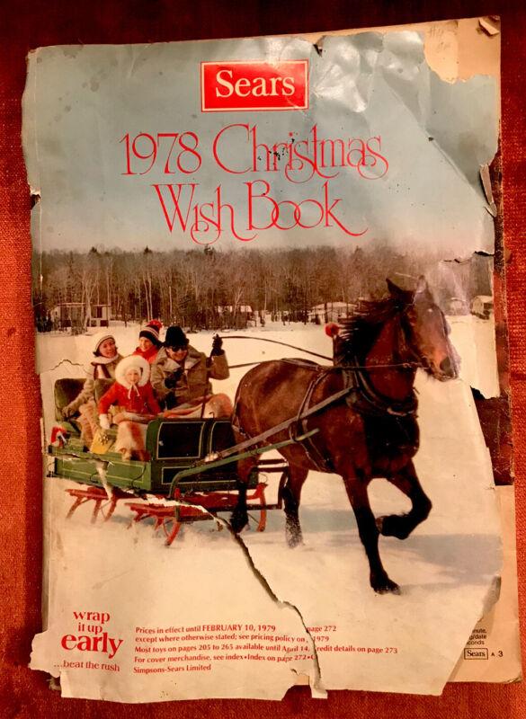 1978 Sears Christmas Holiday Wish Book Catalog Star Wars Trek Barbie Disney