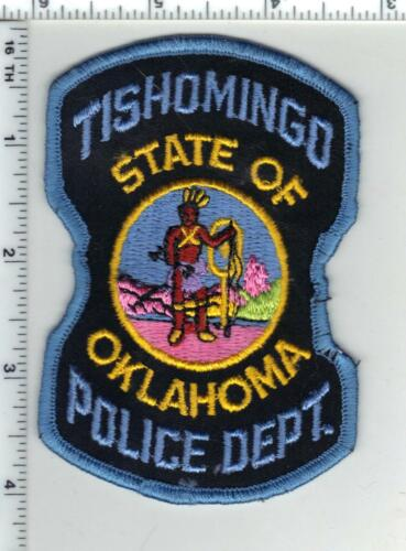 Tishomingo Police (Oklahoma) 2nd Issue Shoulder Patch