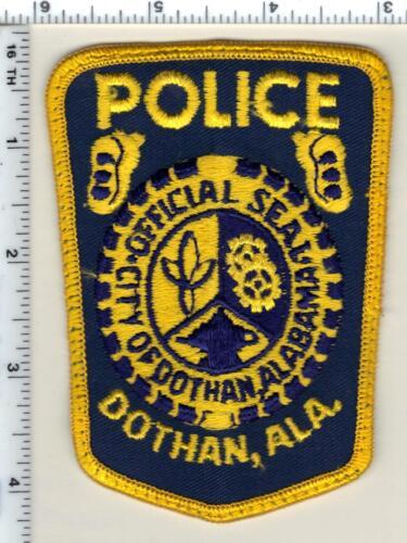 Dotham Police (Alabama) Shoulder Patch - uniform take-off from 1989