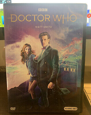 OPEN BOX! DOCTOR WHO: Matt Smith Collection SEASONS 5-7 (DVD, 2018, 10-Disc Set)