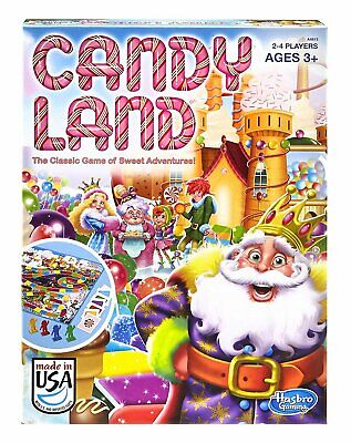 CANDY  LAND   Board Game by Hasbro for ages 3 and up