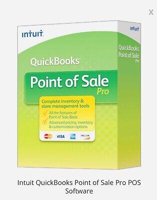 Quickbooks Point Of Sale V12 Pro - Email License Delivery Installation Setup