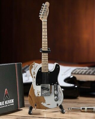 Jeff Beck Fender Vintage Esquire Mini Guitar By Axe Heaven Officially Licensed